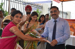 Clinic inauguration at hi-tech